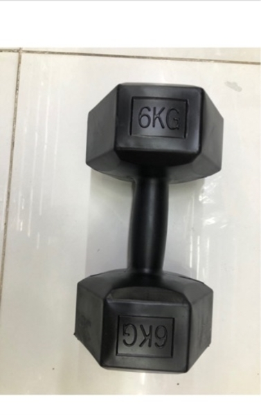 Used Dumbbells/6kg / new in Dubai, UAE