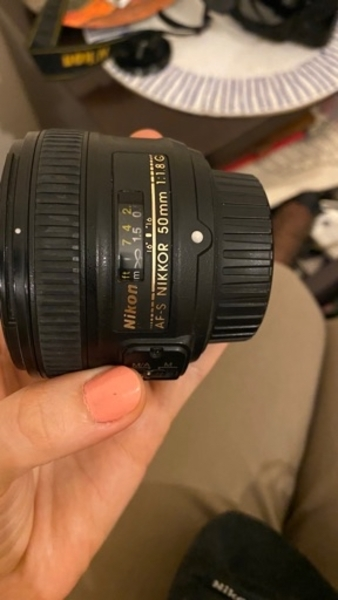 Used Nikon d5000 with 2 original lens. in Dubai, UAE