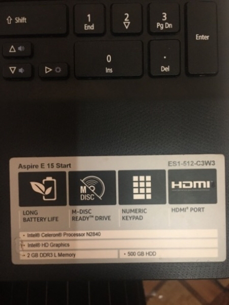 Used Pre Loved Acer Laptop ( Aspire E 15) in Dubai, UAE