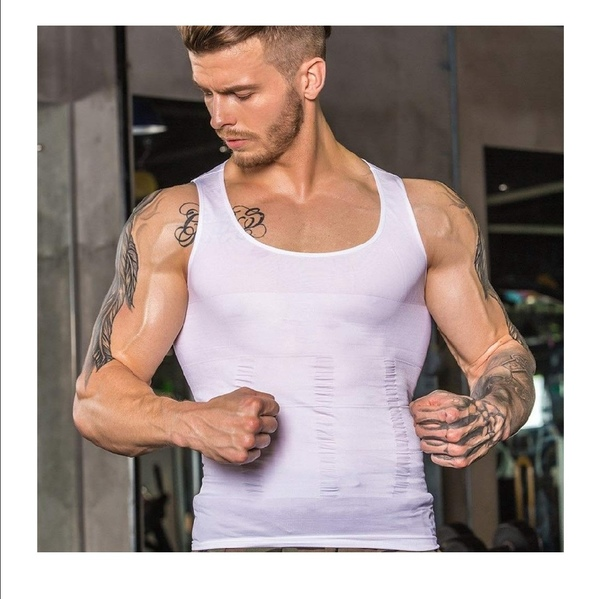 Used Men's contracted abdomen tops size M in Dubai, UAE