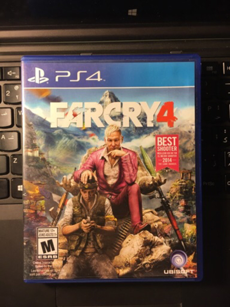 Used FarCry 4 (PS4 Game) in Dubai, UAE