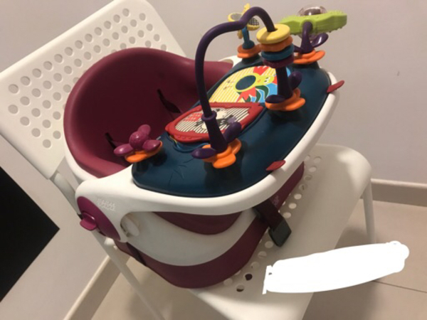Used Baby Booster Seat (mamas and papas) in Dubai, UAE