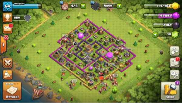 Used Clash of clans account for sale in Dubai, UAE
