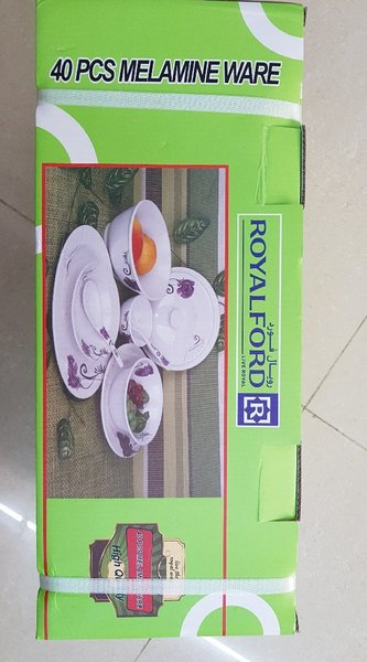 Used Royalford 40 pieces melamine cookware in Dubai, UAE