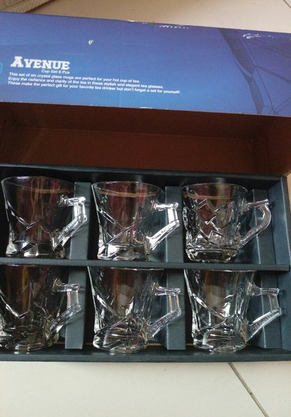 Used Cup sets 6pcs Made in Japan in Dubai, UAE