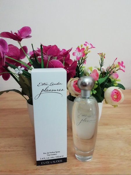 Used Estee lauder pleasure women perfume in Dubai, UAE
