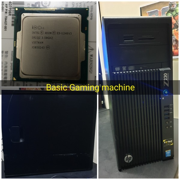 Used HP Z230 WORKSTATION- Gaming PC in Dubai, UAE