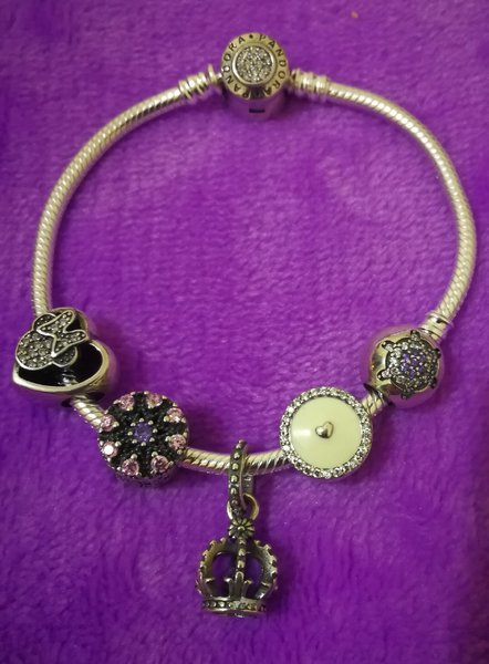 Used Bracelet with Charms in Dubai, UAE