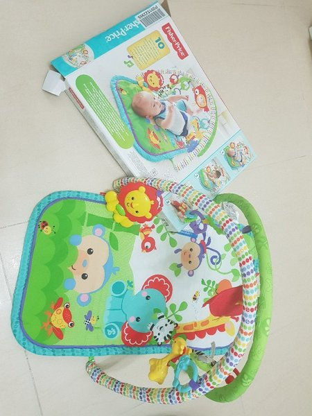 Used Fisherprice baby gym 0 to 6 months in Dubai, UAE