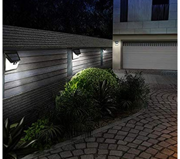 Used Solar water proof wall light 2 pcs in Dubai, UAE