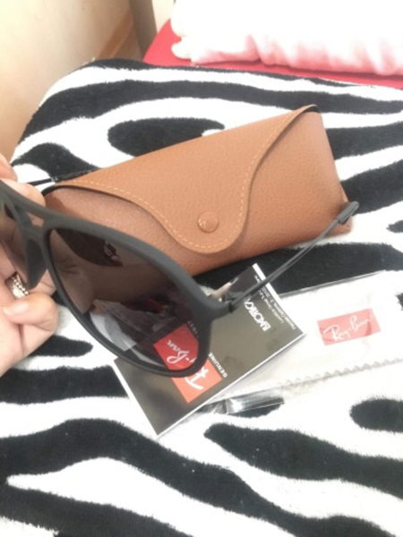 Used ORIGINAL Rayban (model: ALEX) black in Dubai, UAE