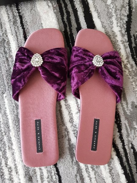 Used Charles & Keith Slipper size 38 in Dubai, UAE