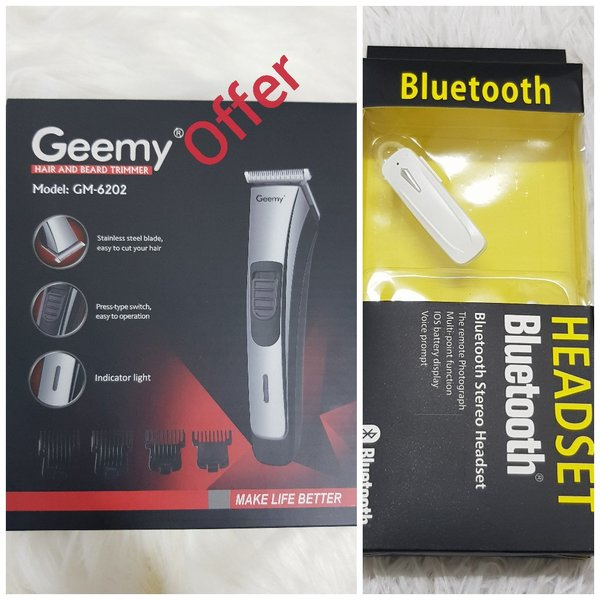 Used Geemy + Bluetooth headset offers in Dubai, UAE
