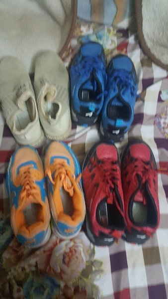 Used Sport shoes 4 pairs 90dh only size 37 in Dubai, UAE