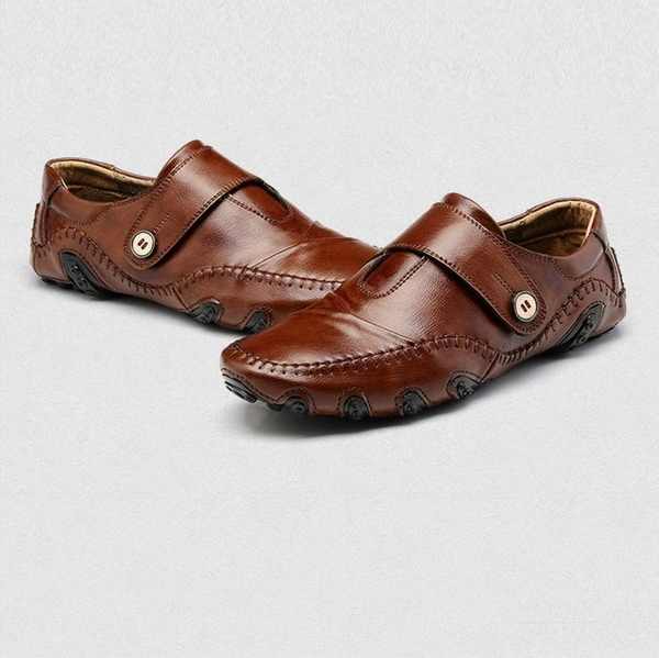 Used Breathable Flat shoes brown size 40 in Dubai, UAE