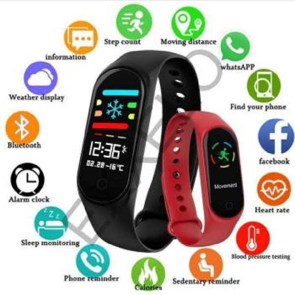 Used M3 Fitness Tracker Heart rate Monitor in Dubai, UAE