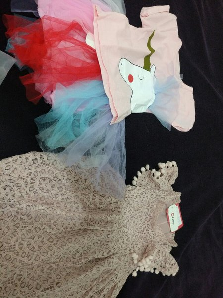 Used Elegant jumpsuit with baby dresses in Dubai, UAE