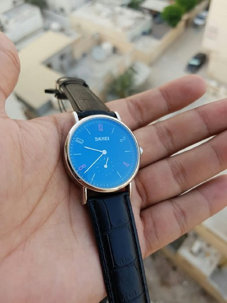 Used Ind Second Dial Black Edition Watch in Dubai, UAE
