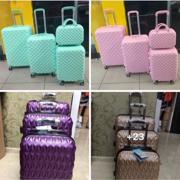 Used Trolley with beauty case in Dubai, UAE