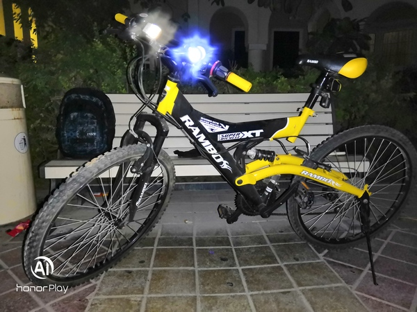 Used Bicycle-Rambo with suspension and gears in Dubai, UAE
