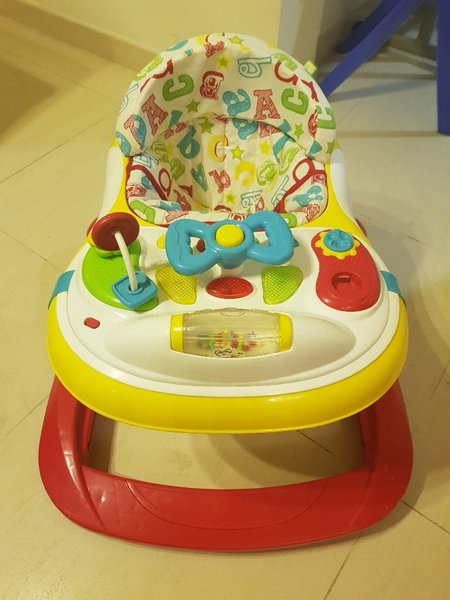Used ABC Mothercare musical babywalker as new in Dubai, UAE