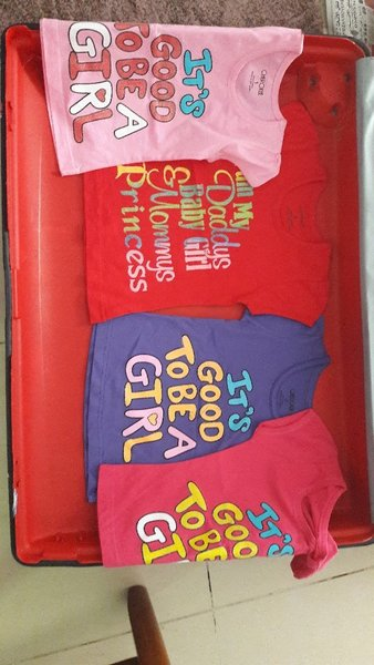 Used New exprt quality girls Tshirts in Dubai, UAE