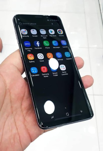 Used Samsung S9 Plus With Charger & Headphone in Dubai, UAE