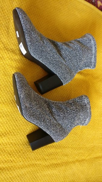 New Party shimmering boots size 40