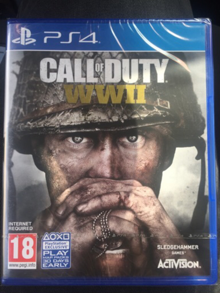 Used PS4 Call of duty WWII  in Dubai, UAE