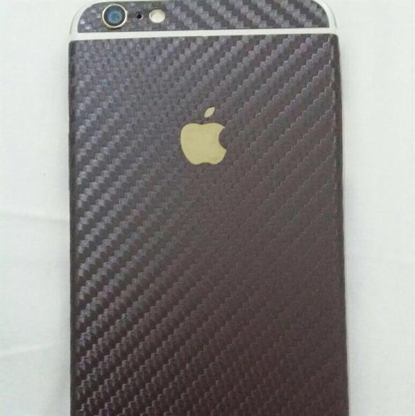 Used iphone 6 plus golden 64gb with coffe viber carbone sticker and full plastic cover used very very very very clean like a new in Dubai, UAE