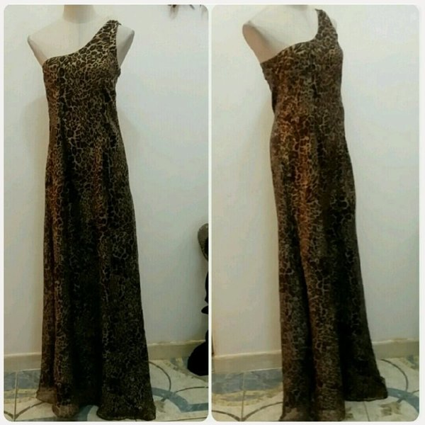 Used Tiger of shoulder long dress...... in Dubai, UAE