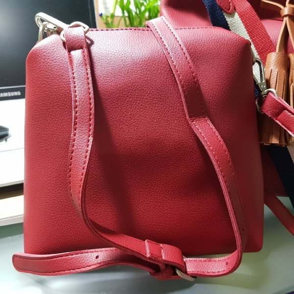 Red Two_Way Bag