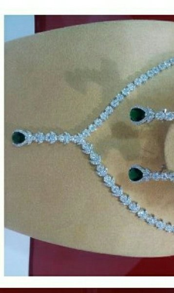 Used Silver Necklace full set.925 purity in Dubai, UAE