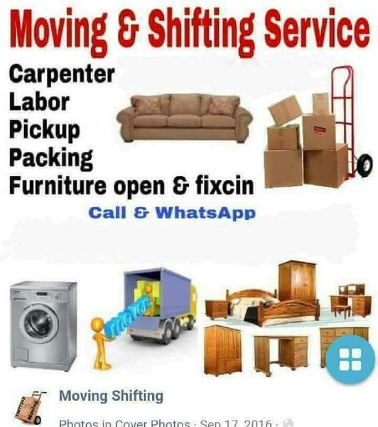Used I have  24 hrs service Pickup for movin in Dubai, UAE