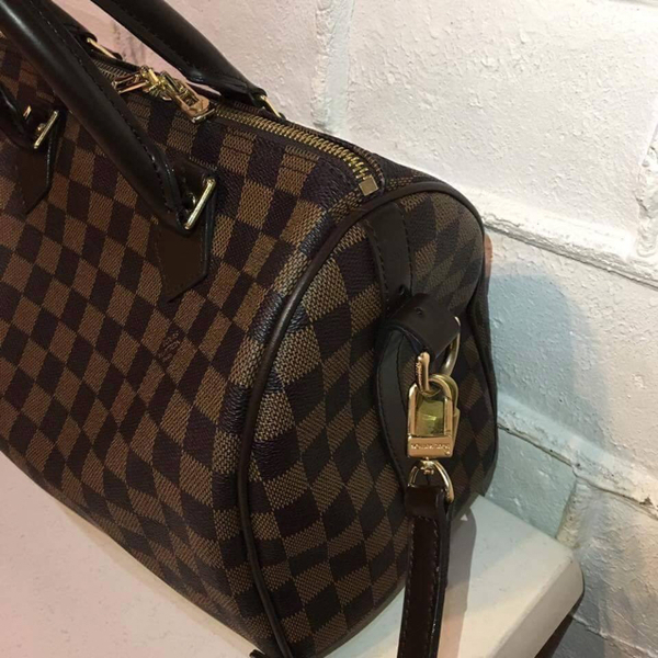 Used Louis Vuitton Bandolliere Bag With Paper Bag, Dustbag, Cards, Lock And Key And Sling  in Dubai, UAE