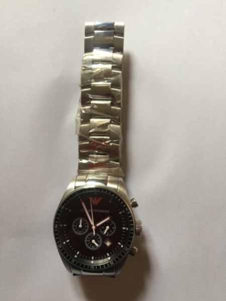 Used Empire Armani watch in Dubai, UAE