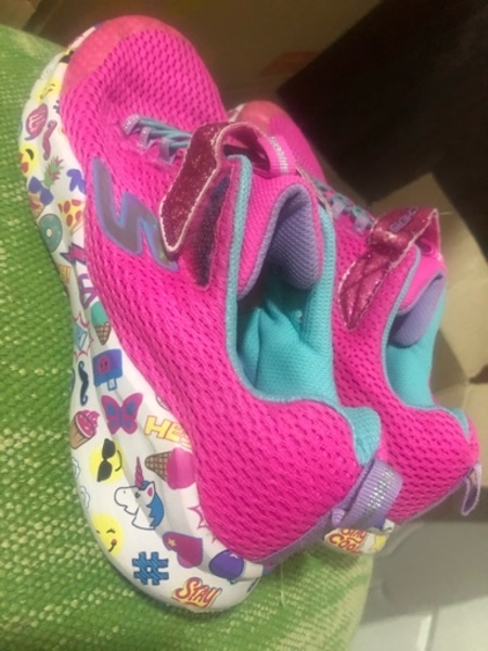 Used Adidas shoes for kids size 36 1/2 in Dubai, UAE