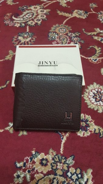 Brand new wallet for him with cards hold