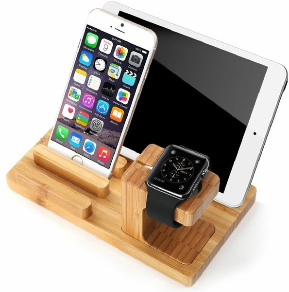 Used Mobile Charger Holder Wood in Dubai, UAE