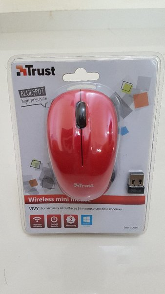 Used Trust Wireless Mouse Red in Dubai, UAE