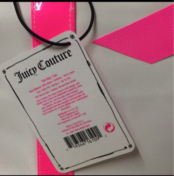 Juicy couture tote authentic