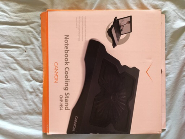 Used Canyon cooling stand and notebook pack in Dubai, UAE