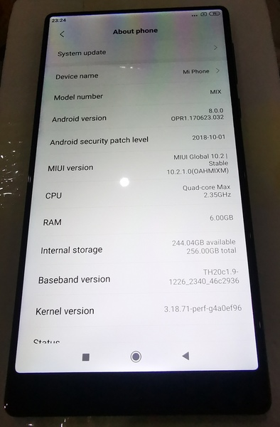 Used Xiaomi Mi Mix 18K Exclusive Edition in Dubai, UAE