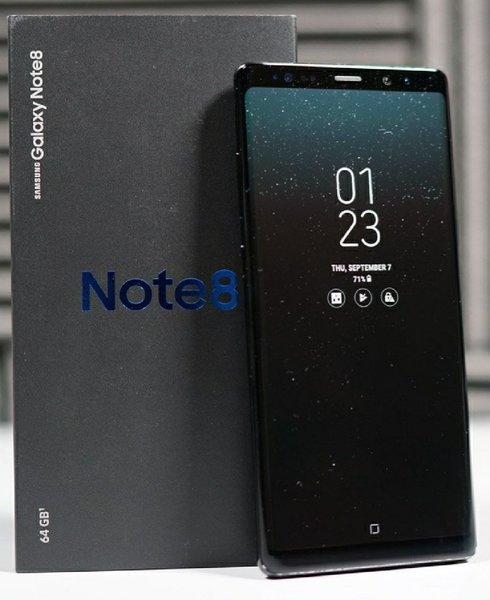 Used NOTE 8 BLACK & GREY COLOUR AVAILABLE in Dubai, UAE