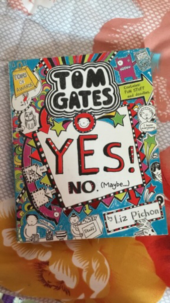 Used Yes no maybe Tom gates book in Dubai, UAE