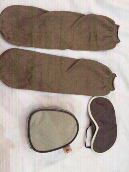 Used Emirates kit items included never used in Dubai, UAE
