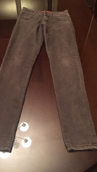 "Used High waist girls jeans 28""waist &top 2pc in Dubai, UAE"