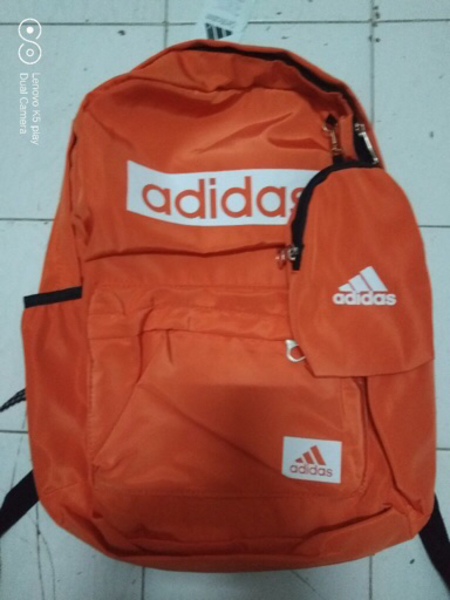 Used Bagpack Adidas orange in Dubai, UAE