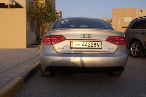 Used Audi A4 مع رقم السياره With License Plate in Dubai, UAE