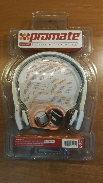 Used Promate Bluetooth Headset No Ear Pads in Dubai, UAE